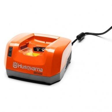 Husqvarna akumuliatoriaus įkroviklis QC500